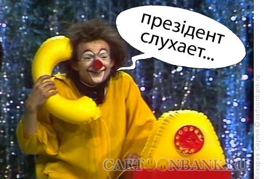 Карикатура: комик у власти, Кокарев Сергей
