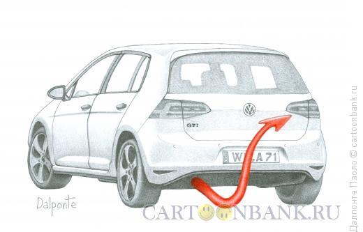 Карикатура: Volkswagen scandal, Далпонте Паоло