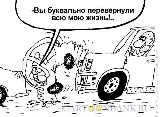 Карикатура: Перевернутая жизнь, Шилов Вячеслав