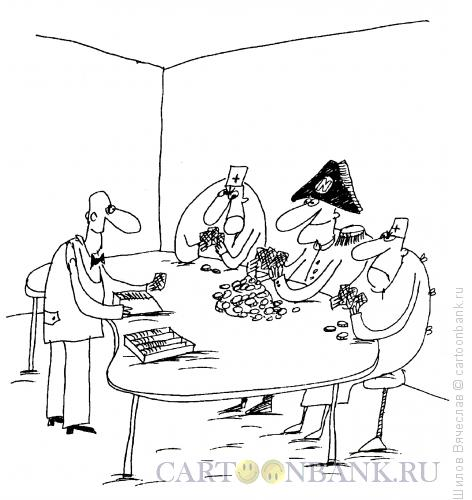 Карикатура: Императору везет, Шилов Вячеслав