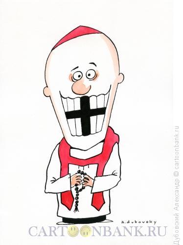 Карикатура: Проблемки с зубами, Дубовский Александр