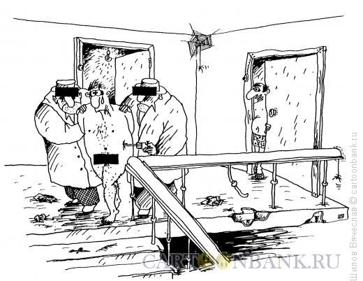 Карикатура: Арест, Шилов Вячеслав