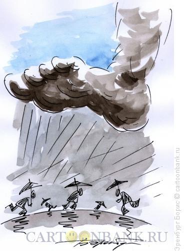 Карикатура: Катастрофа, Эренбург Борис