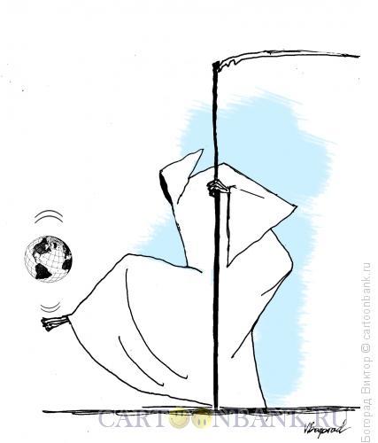 Карикатура: Игра в мяч, Богорад Виктор