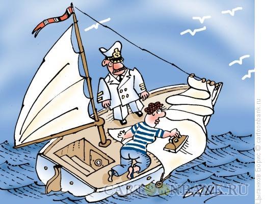 Карикатура: Утюг, Цыганков Борис