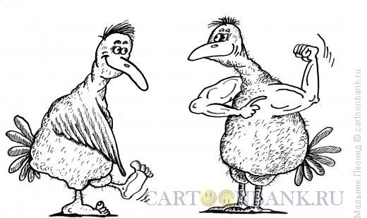 Карикатура: Приобретенье, Мельник Леонид