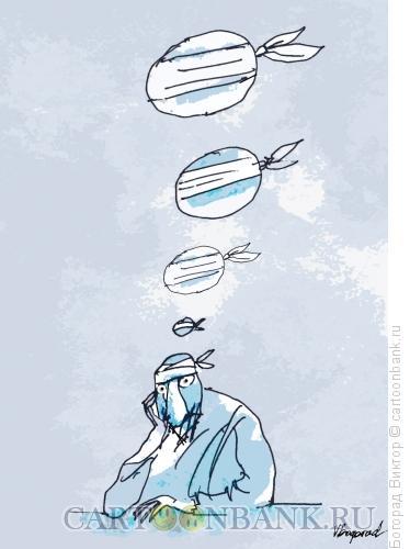 Карикатура: В больной голове, Богорад Виктор