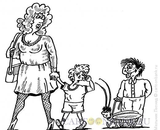 Карикатура: Зависть, Мельник Леонид