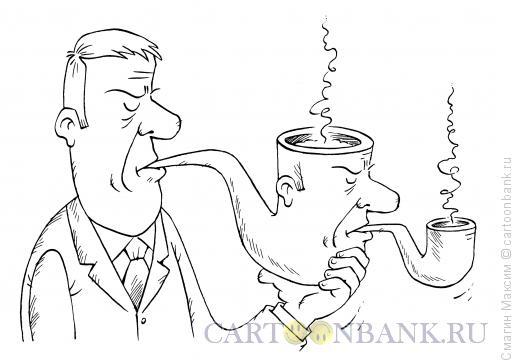 Карикатура: Детектив, Смагин Максим