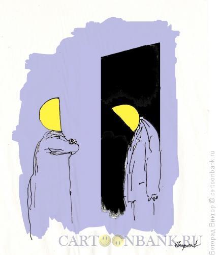Карикатура: Возвращение домой, Богорад Виктор