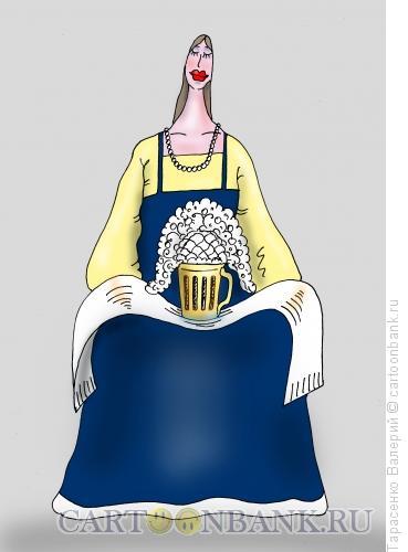 Карикатура: Славянское пиво, Тарасенко Валерий