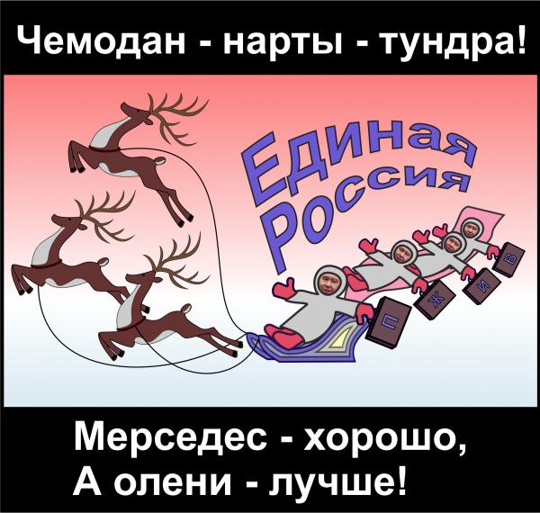 Мем: Чемодан - нарты - тундра!, Антипуть