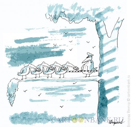 Карикатура: Пограничный контроль, Богорад Виктор