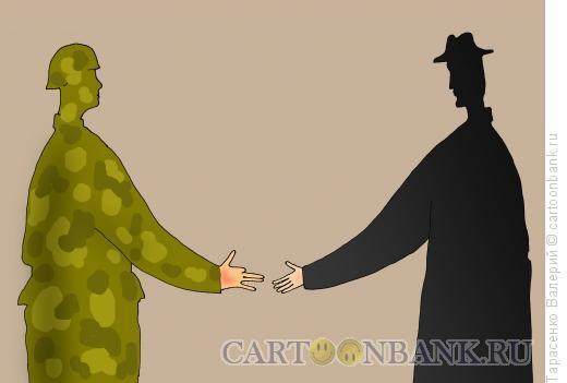 Карикатура: Партнеры, Тарасенко Валерий