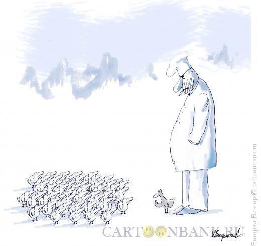 Карикатура: Гадкий утенок, Богорад Виктор