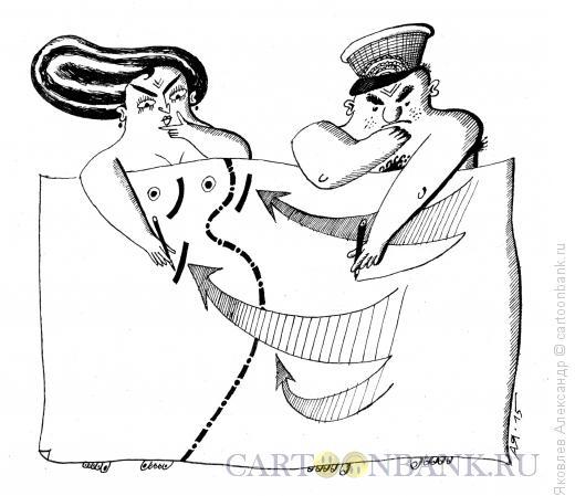 Карикатура: Агрессор, Яковлев Александр