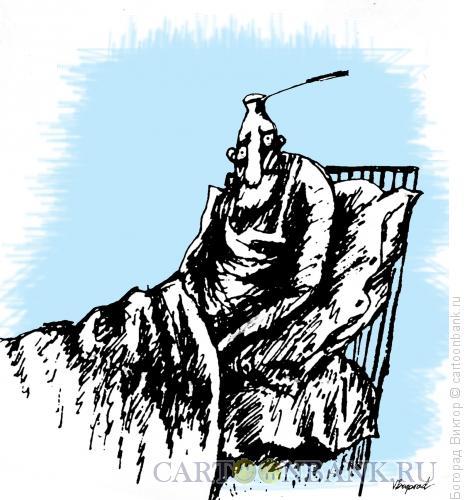 Карикатура: Утреннее желание, Богорад Виктор