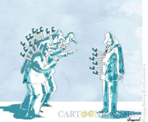 Карикатура: Юмор и разное его понимание, Богорад Виктор