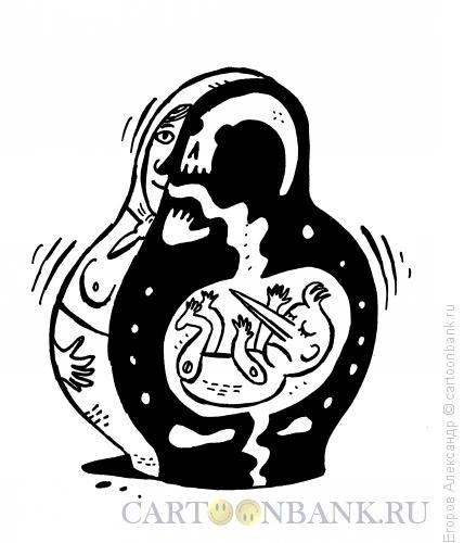 Карикатура: Мама буратино, Егоров Александр