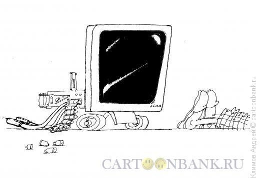 Карикатура: Телевизор, Климов Андрей