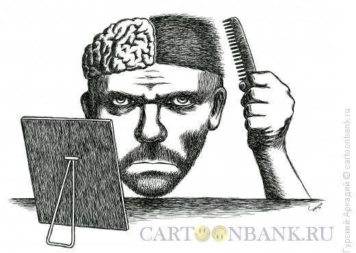 Карикатура: причёска, Гурский Аркадий