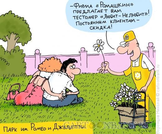 Карикатура: Ромашка, Воронцов Николай