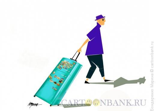 Карикатура: Холодильник, как Чемодан, Бондаренко Марина