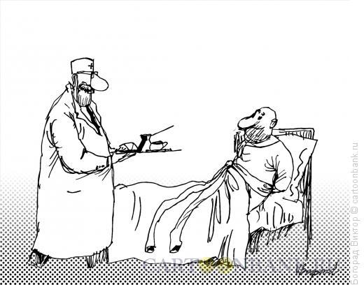 Карикатура: Забота, Богорад Виктор
