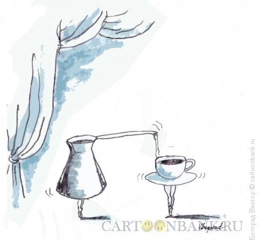 Карикатура: Балетный дуэт, Богорад Виктор