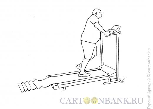 Карикатура: тренажёр, Гурский Аркадий
