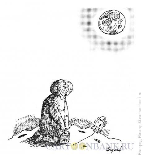 Карикатура: Невозвращенец, Богорад Виктор