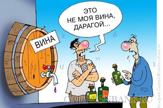Карикатура: вина, Кокарев Сергей