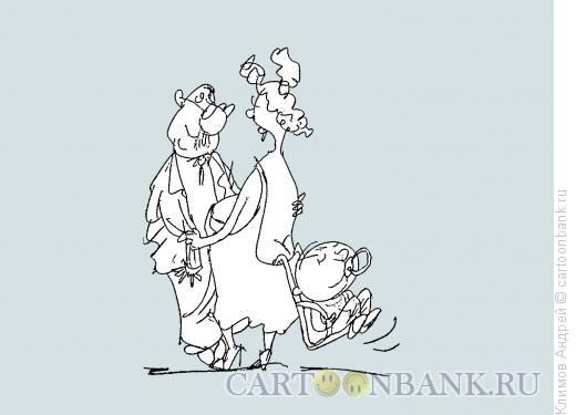 Карикатура: Кадриль с нагрузкой, Климов Андрей