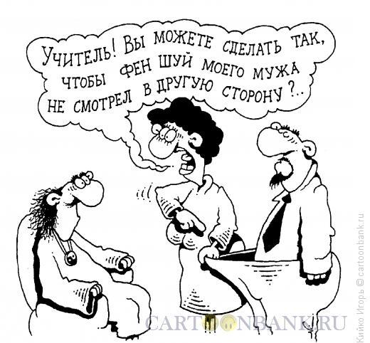 Карикатура: Фен шуй, Кийко Игорь
