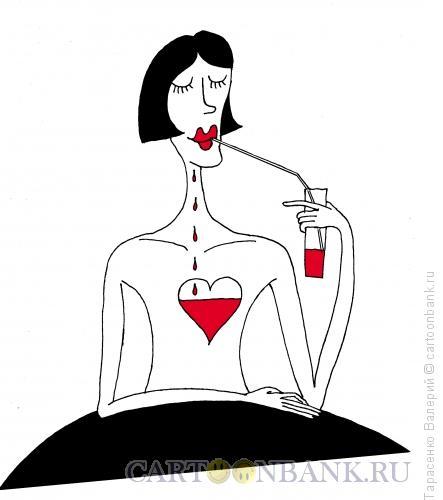 Карикатура: Любимый напиток, Тарасенко Валерий