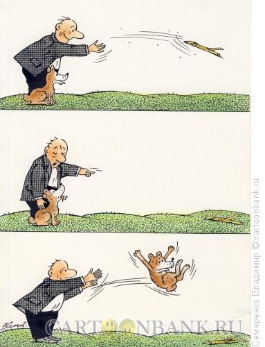 Карикатура: Дрессура, Семеренко Владимир