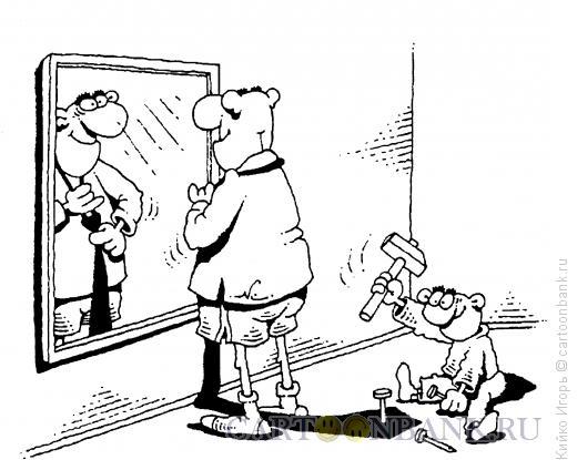 Карикатура: Галстук, Кийко Игорь