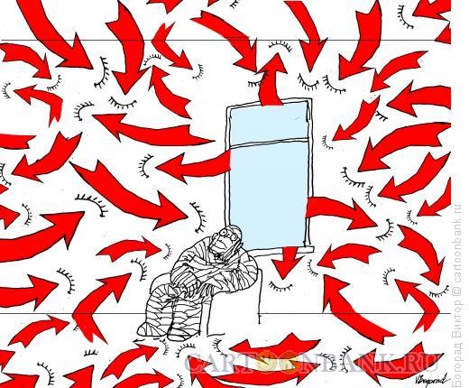 Карикатура: Агрессивная среда, Богорад Виктор