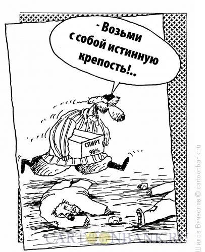 Карикатура: Истинная крепость, Шилов Вячеслав