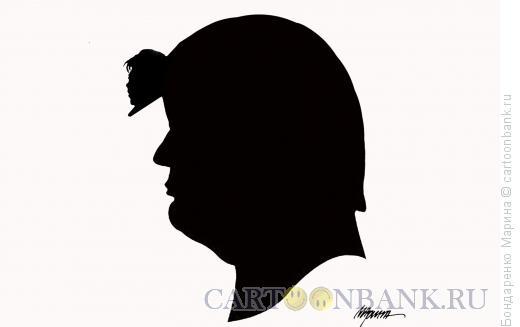 Карикатура: Трамп и Ким, Бондаренко Марина