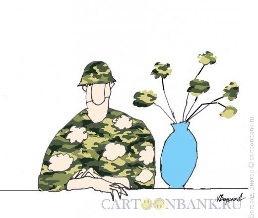 Карикатура: Военный портрет, Богорад Виктор