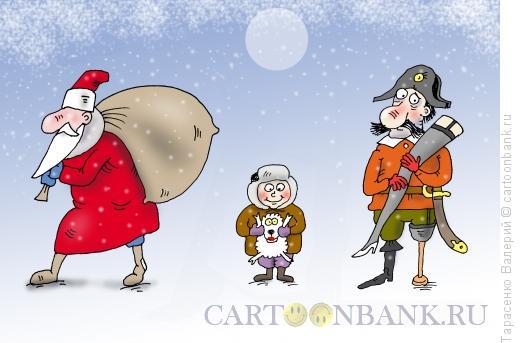 Карикатура: Любимый размер, Тарасенко Валерий