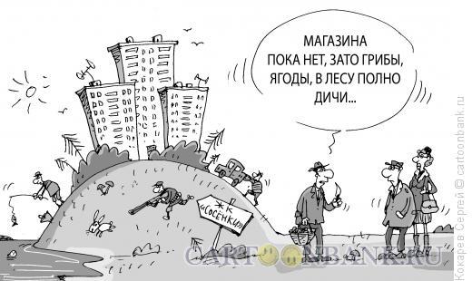Карикатура: микрорайон, Кокарев Сергей
