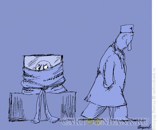 Карикатура: Верное решение, Богорад Виктор