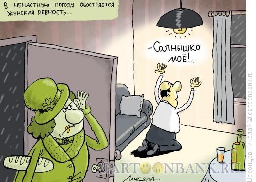 Карикатура: Ревность, Воронцов Николай