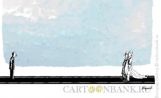 Карикатура: Официальная встреча, Богорад Виктор