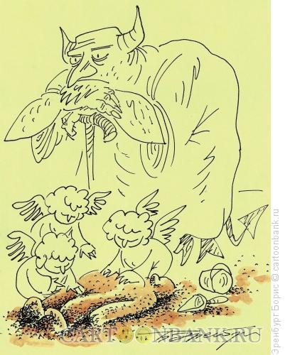 Карикатура: созидание, Эренбург Борис