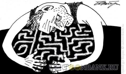 Карикатура: лабиринт, Эренбург Борис