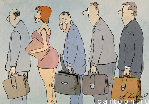 Карикатура: Случай в министерстве, Александр Зудин