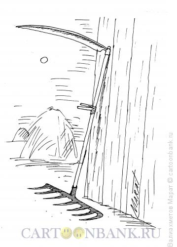 Карикатура: Инвентарь, Валиахметов Марат